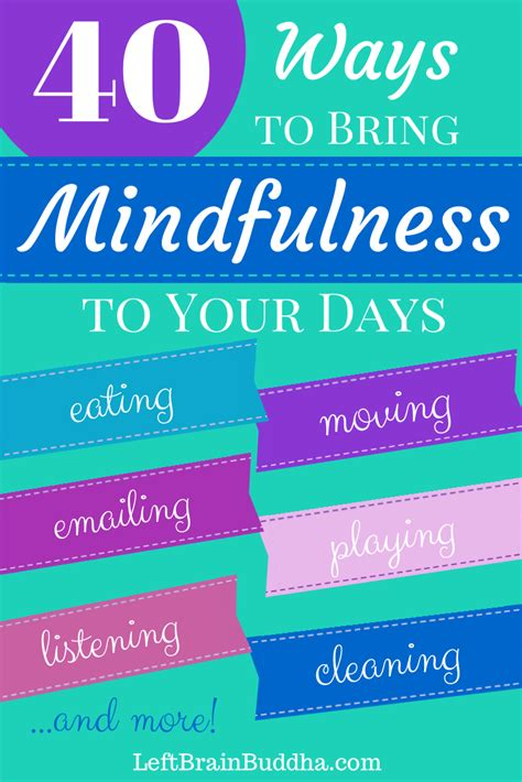 a daily dose of mindful moments applying the science of mindfulness and happiness books 40 ways to bring mindfulness to your days left brain buddha