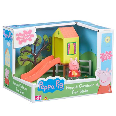peppa pig swing peppa pig outdoor swing and slide playset peppa pig