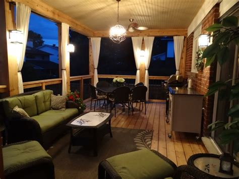back deck lighting ideas best 25 enclosed decks ideas on patio deck