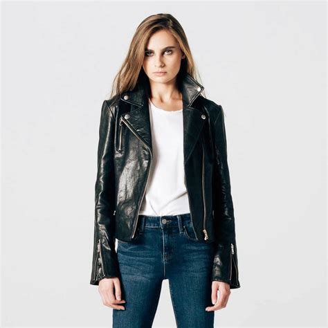 leather moto jacket womens leather moto jacket with silver hardware 350 dstld