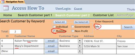 Search Email Access Create Access Search Form By Keyword Iaccessworld