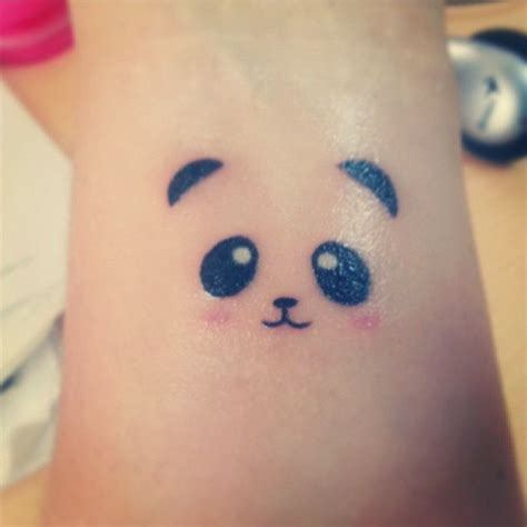 panda tattoo cute pin pin cute panda tattoos for mens and womens on