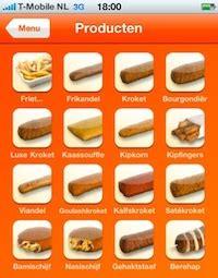 mora lanceert snack app voor iphone