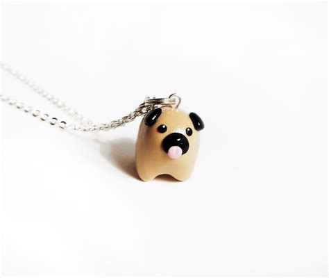 how to pug clay cat express pug necklace store powered by storenvy