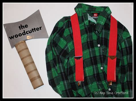 woodcutter costume idea peek  boo pages patterns
