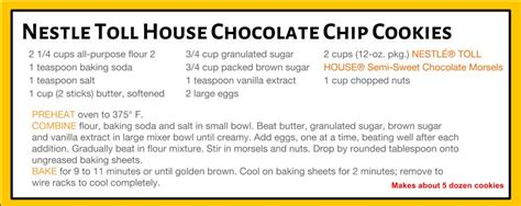 nestle toll house recipe nestle toll house recipe house plan 2017