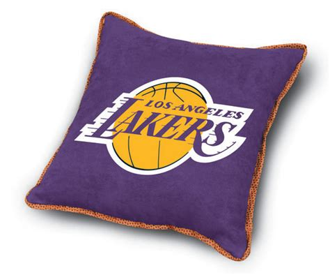 los angeles lakers mvp microsuede 18 quot toss pillow