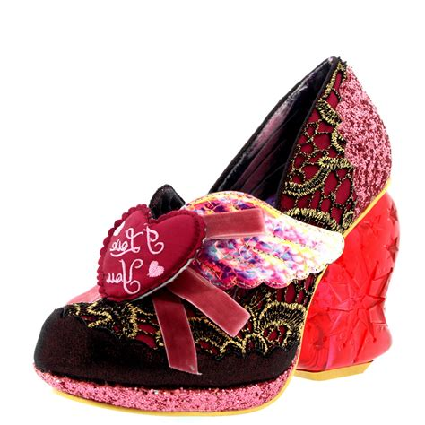 light up high heel shoes womens irregular choice true high heel