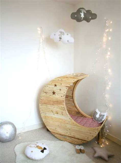 Diy Moon Bed Crescent Moon - moon shaped baby crib find projects to do at