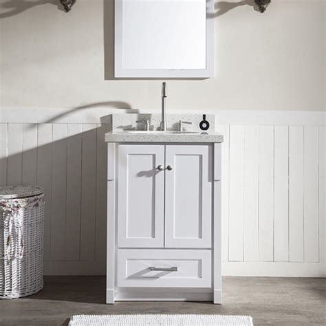 ariel bathroom ariel bath 25 quot adams single sink bathroom vanity white