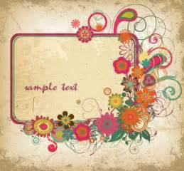 Floral frames pc android iphone and ipad wallpapers and pictures