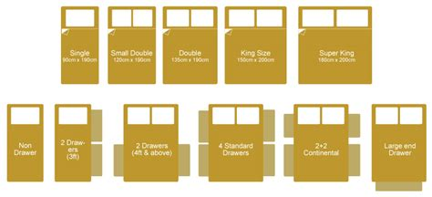 measurements of a king size bed bed sizes