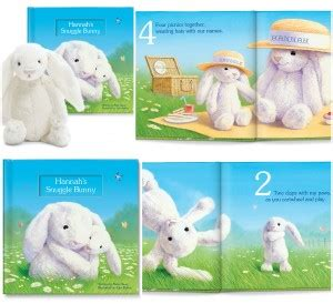 snuggle bunnies books stories come alive with personalization from paper