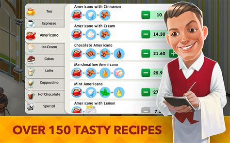 cafe gioco my cafe recipes stories android apps on play