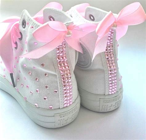 flat bridal shoes with bling converse wedding shoes converse bridal shoes rhinestone