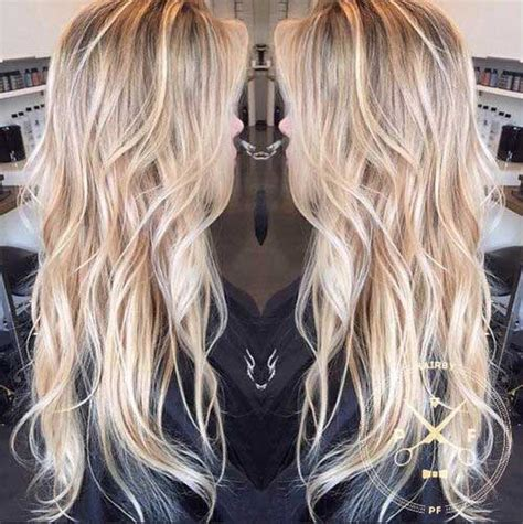 blonde long hair thin 25 haircuts for long blonde hair hairstyles haircuts