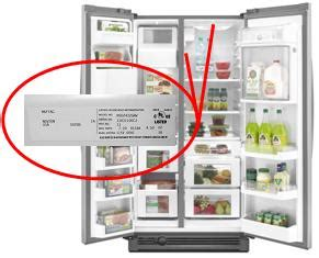 Find Admiral Refrigerator Service Manual By Model Number