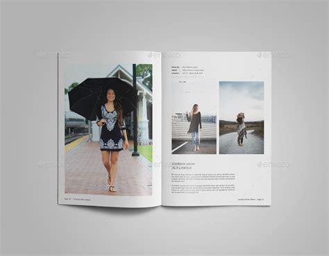 photography portfolio or photo album template by alhaytar