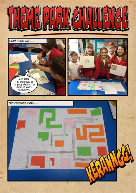 theme park maths year 5 maths challenge boothferry primary school