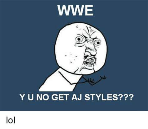 Aj Styles Memes - funny aj styles memes of 2016 on sizzle dank