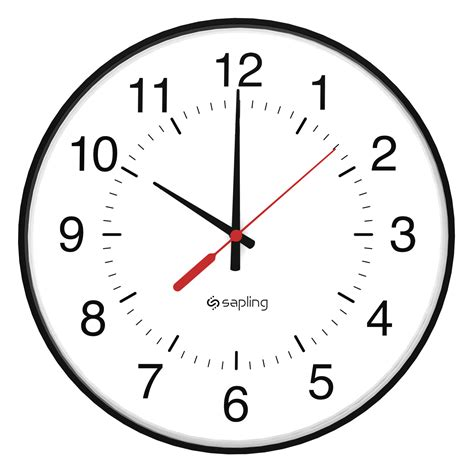 analog wall clock meaning sat g series talkback analog clock sapling clocks