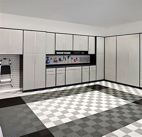 Silver Garage by Closets By Design Custom Closets Closet Organizers