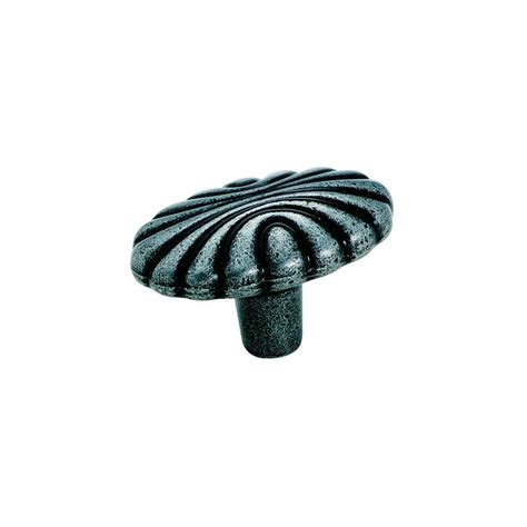 Wrought Iron Knobs by Shop Amerock Elegance Wrought Iron Oval Cabinet