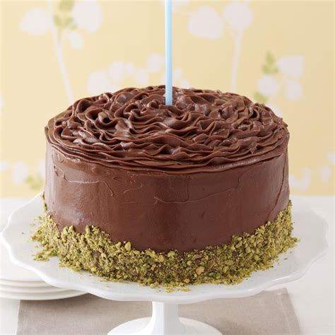 best chocolate frosting for cake banana cake with chocolate frosting recipe taste of home
