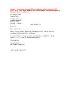 Bank Statement Covering Letter Letter Format 187 Bank Statement Letter Format Cover Letter And Resume Sles