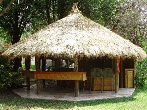 Huts Tiki Huts Southern Bamboo Cottages Pinterest Backyard Tiki Hut