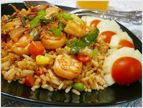 Buat Nasi Goreng Udang | dapurku sayang nasi goreng udang