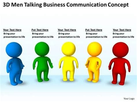 patterns of business communication ppt business communication concept planning templates