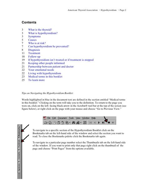 Microsoft Word Original microsoft word hypothyroidism booklet for web original