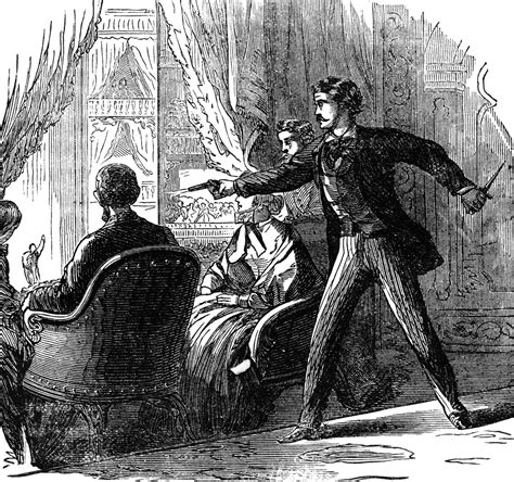 abraham lincoln assasinated lincoln assassination clipart etc