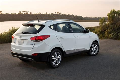 hyundai tucson 2016 colors 2016 hyundai tucson fuel cell gets homelink mirror and