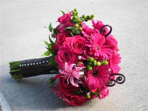 Wedding Pink Flowers by Pink Bridal Bouquets Pink Wedding Bouquet My
