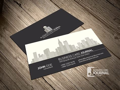 free construction business cards templates 15 outstanding free real estate business card templates