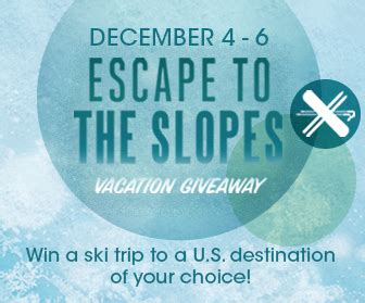 Ski Trip Giveaway - escape to the slopes with the ultimate ski vacation giveaway borgata blog borgata