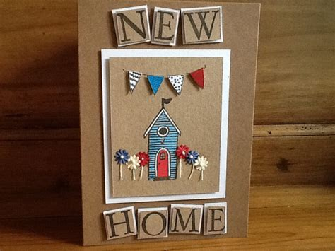Handmade New Home Card Ideas - handmade new home card