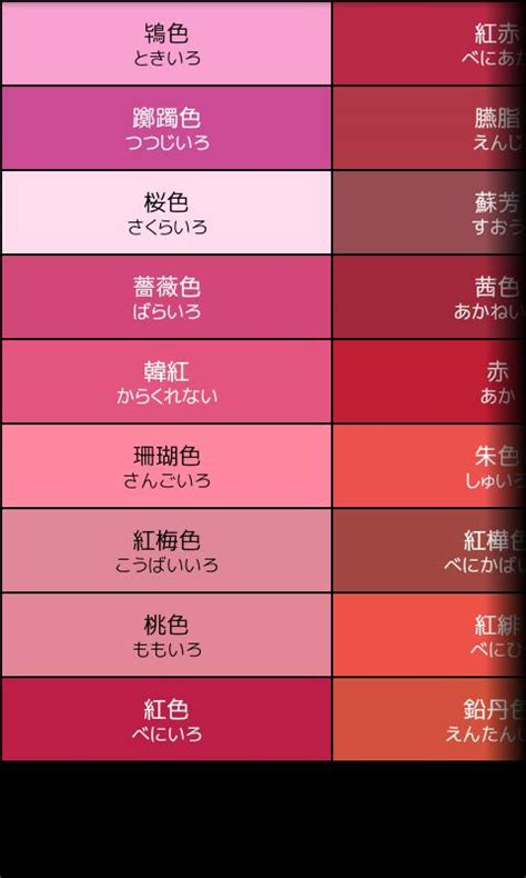 the color code book color code book android apps on play