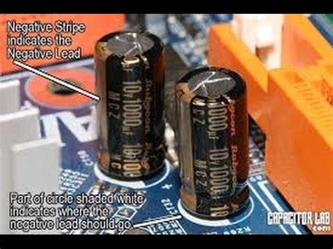 tattoo gun capacitor capacitors impact on tattoo machines youtube