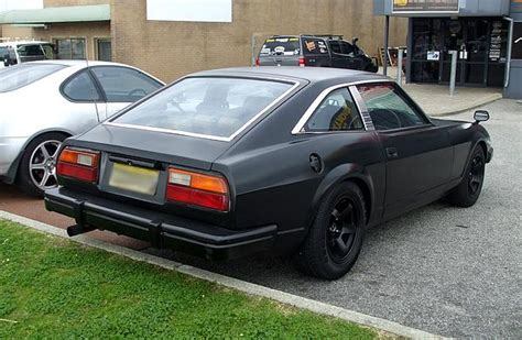 datsun 280x datsun 280zx dat is one black zed
