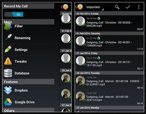 android call recorder top 7 awesome call recorder apps for android