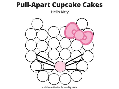 pull apart cupcake cake templates 558 best pull apart cupcake cake ideas images on