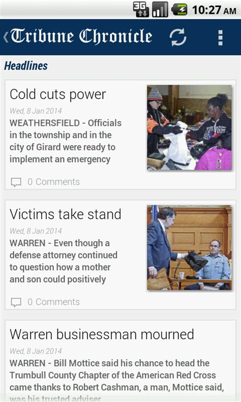 tribune chronicle android apps on play