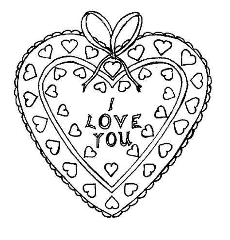coloring pages for hearts hearts coloring pages free printables