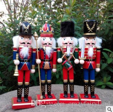 cheap nutcracker soldiers 30cm wooden nutcracker soldiers puppet zakka creative desktop decoration large size