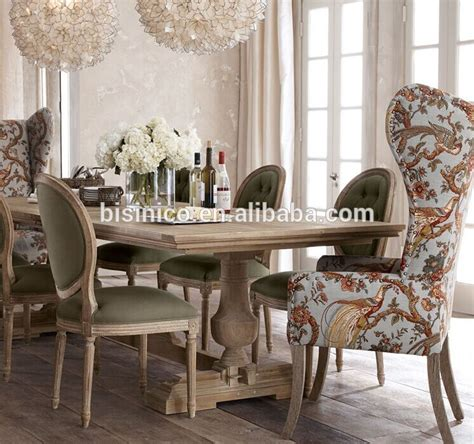 french country style wooden dining room setvintage