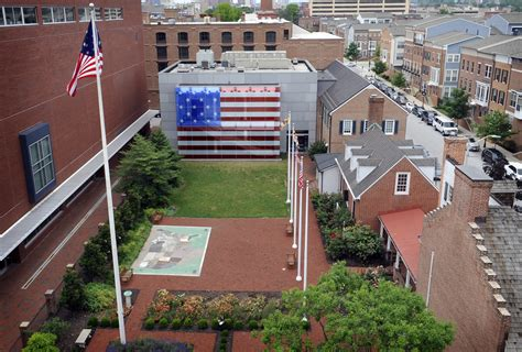 Flag House by Baltimore S Spangled Banner Flag House