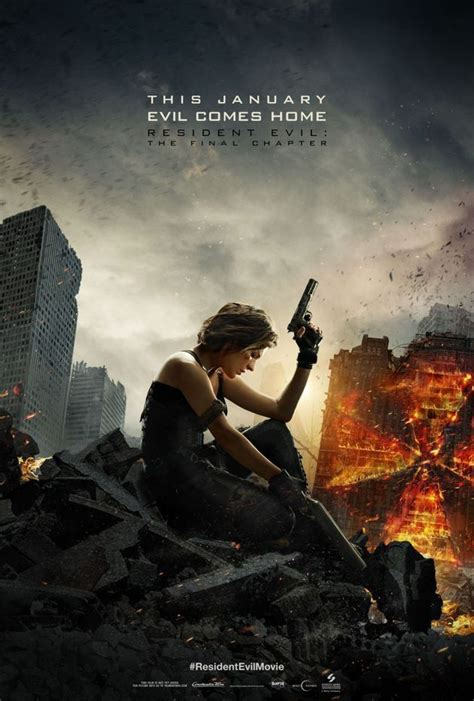 milla jovovich upcoming movies 2017 poster resident evil final chapter resident evil